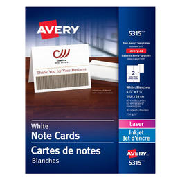 Small Fc9da Avery N 099 05315 Business Card Note Cards 5315 Two Sided Printing 4