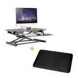 Sit Standing Desk Height Adjustable Ergo Riser ADR+Standing Mat  PrimeCables®