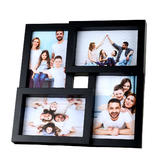 "4-Opening 4"" X 6"" Collage Frame, Table Stand or Wall Mounted - Moustache®"