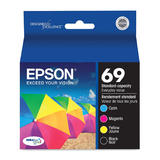 Epson T069120-BCS Original Black and Color Ink Cartridge Combo BK/C/M/Y