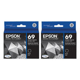 Epson T069120 Original Black Ink Cartridge Twin Pack