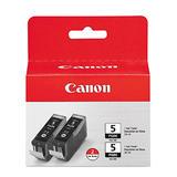 Canon PGI-5BK 0628B009 Original Pigment Black Ink Cartridge Twin Pack
