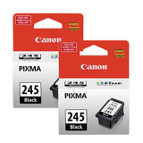 Canon PG245 Original Black Ink Cartridge Twin Pack (8279B001)