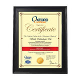 """Certificate Frame 8.5"""" x 11"""" , Table Stand or Wall Mounted - Moustache®"""