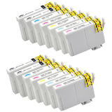 Epson 79 T079 Compatible Ink Cartridge Combo High Yield - 14/Pack - Moustache®