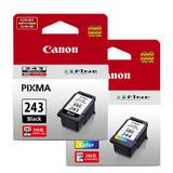 Canon PG-243 CL-244 Original Ink Cartridge Combo (1287C001 1288C001)