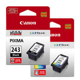 Canon PG-243 CL-244 Original Ink Cartridge Combo (1287C001 1288C001)