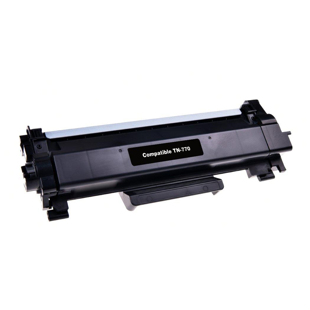 Brother TN770 Compatible Black Toner Cartridge Extra High Yield - With Chip - Ecobox