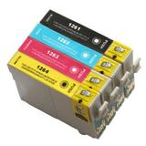 Epson 126 T126 Compatible Ink Cartridge Combo High Yield BK/C/M/Y - Eco Box
