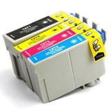 Epson 127 T127 Compatible Ink Cartridge Combo Extra High Yield BK/C/M/Y - Economical Box