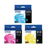 Epson 212 T212520 Original Ink Cartridge Combo C/M/Y