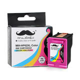 Remanufactured HP 62XL C2P07AN Tri-color Ink Cartridge High Yield - Moustache®