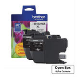 Brother LC30132PKS Original Black Ink Cartridge High Yield - Open Box