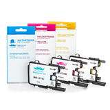 Brother LC75 3PKS Compatible Color Ink Cartridge Combo High Yield C/M/Y - Moustache®