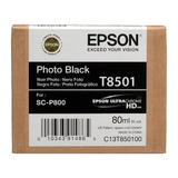 Epson T850 T850100 Original UltraChrome Photo Black Ink Cartridge