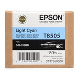 Epson T850 T850500 Original UltraChrome Light Cyan Ink Cartridge
