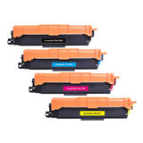 Brother TN227 Compatible Toner Cartridge Combo High Yield BK/C/M/Y - WithChip - Economical Box