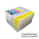 Epson T079 Empty Refillable Ink Cartridge Combo High Yield BK/C/LC/M/LM/Y with ARC Chip