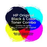 HP 206A W2110A W2111A W2112A W2113A Original Toner Cartridge Combo BK/C/M/Y