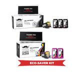 Canon PG-245XL CL-246XL Remanufactured Eco-Saver Ink Cartridge 7PK Combo - Moustache®