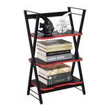 3-Tier Storage Shelf, Metal Frame Gaming Rack - Moustache®