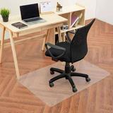 Translucent Chair Mat for Hardwood Floor, Rectangle, PVC - Moustache®