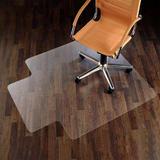 PVC Chair Mat with Lip for Hardwood Floor - Moustache®