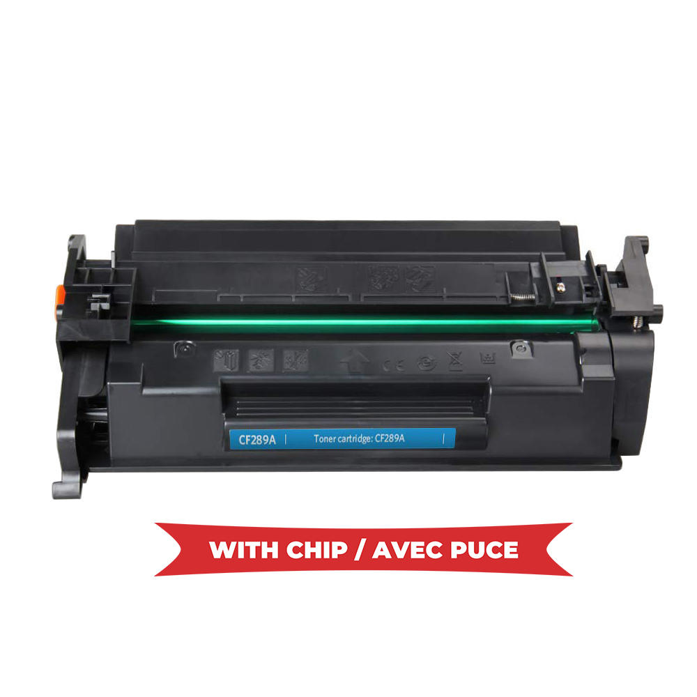 Compatible HP 89A CF289A Black Toner Cartridge - With Chip