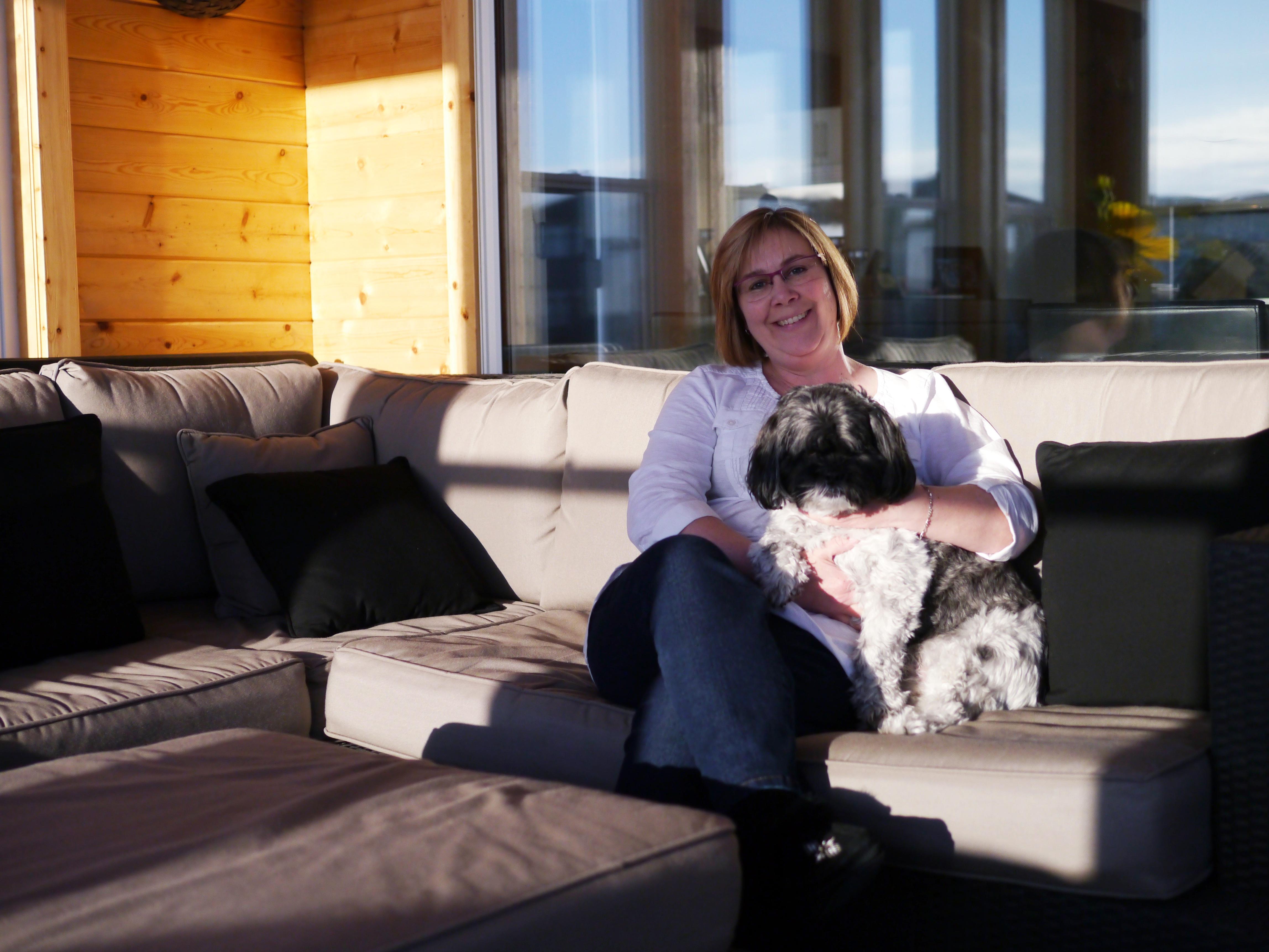Winnipeg MS Walk Ambassador Barb Van Walleghem