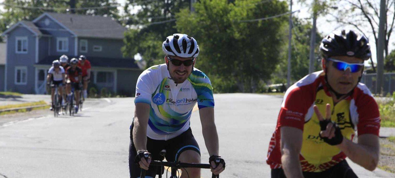 Jordan at MS Bike