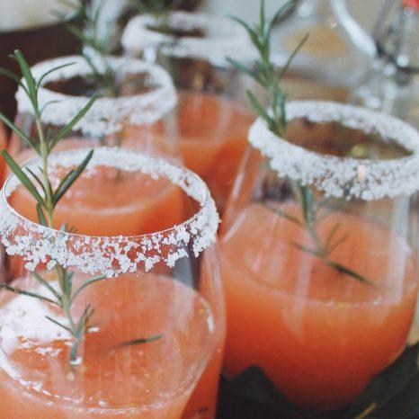 Cocktail vodka pamplemousse