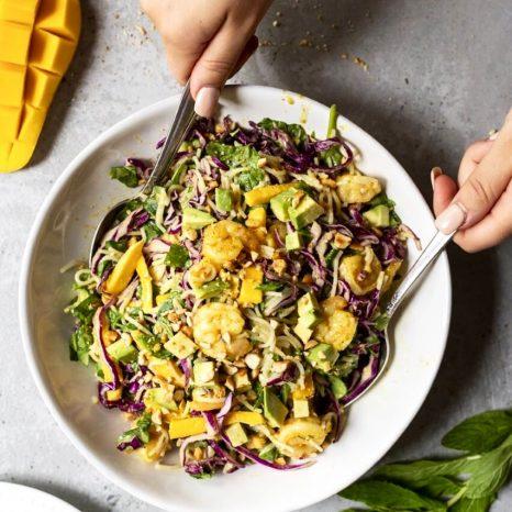 Salade «rouleaux de printemps»