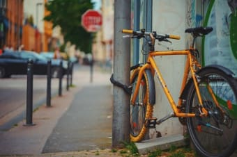 How do I file a claim for my stolen bicycle?