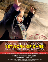 Southern Network Annual General Meeting – September 29, 2017