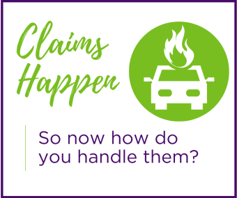 Claims: how should you handle them?