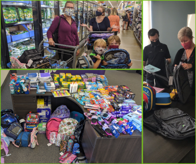 Pack the Backpack - 2020 School Supply Drive raises $1,500!