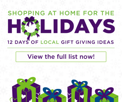 Shopping At Home For The Holidays - Ideas