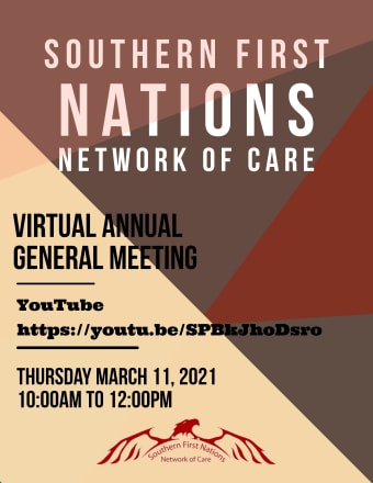 Southern Network Virtual Annual General Meeting – March 11, 2021