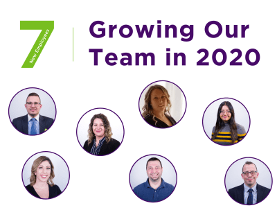How did our team grow in 2020?