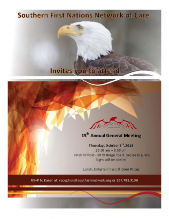 Southern Network 15th Annual General Meeting – October 4, 2018