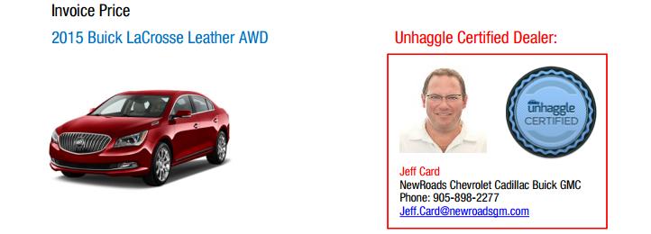 Local Car Dealer Information