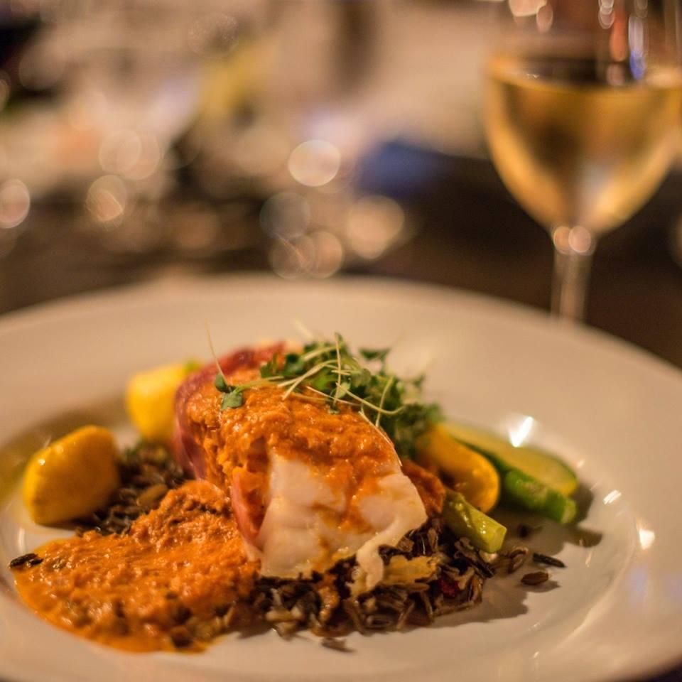 Le restaurant de l'Auberge du Lac Morency