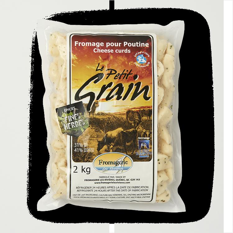 Cheddar Le Quotidien en Grains aux Fines Herbes