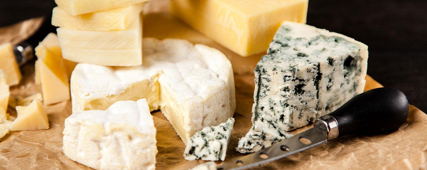 Les fromages sans lactose