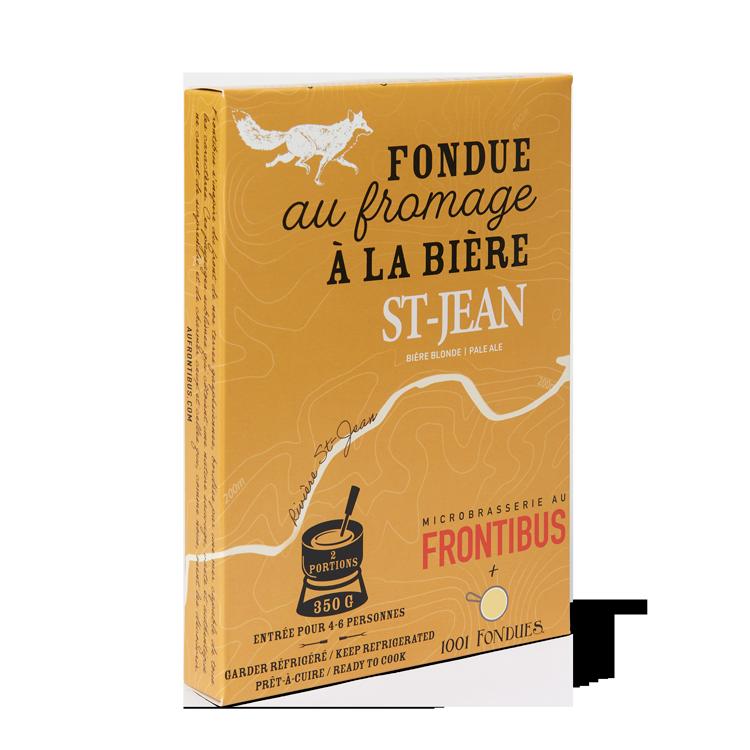 Fondue à la Bière St-Jean