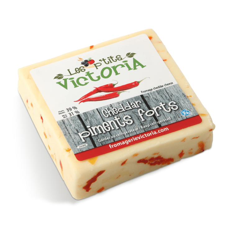Cheddar aux Piments Forts