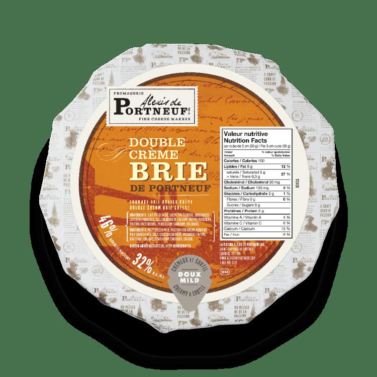 Brie Double Crème de Portneuf