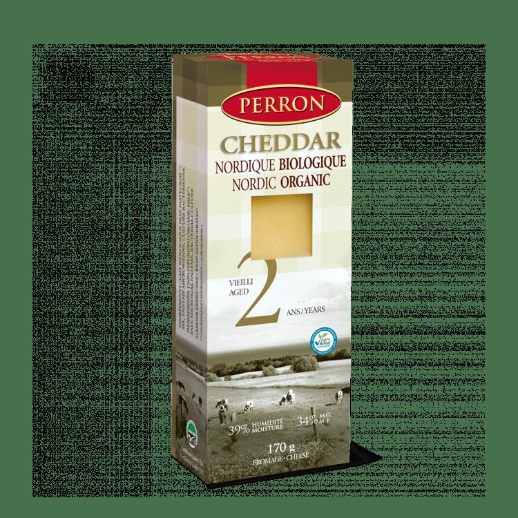 Cheddar Perron Nordique Biologique Vieilli 2 ans