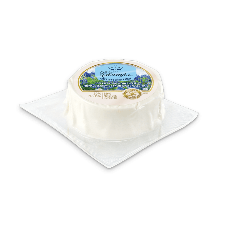 Plus disponible - Chèvre & Vache La Crème des Champs