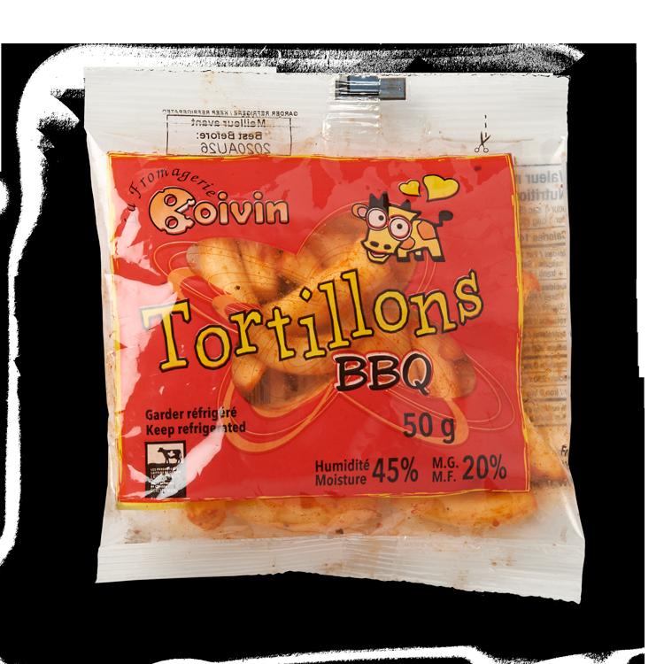 Tortillons BBQ Boivin